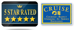 5 Star Rated | Cruise, Logo
