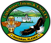 Lighthouse, Totems and Eagles, Logo